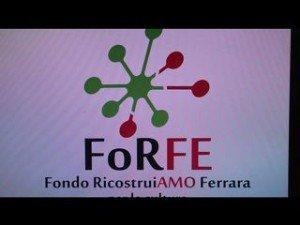 ForFe, nasce il marchio della ricostruzione