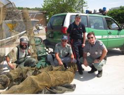 Pesca abusiva, i controlli