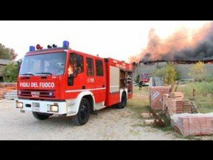 Incendio, l'incontro a Migliarino