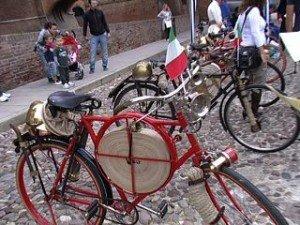 The history of bike a Ferrara