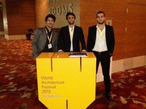 Tre Studenti di Architettura di Unife vincono il prestigioso premio del World Architecture Festival di Singapore