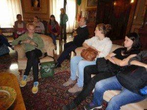 Ricevuti dal sindaco Tagliani gli studenti tedeschi protagonisti di uno scambio culturale e di studio-lavoro