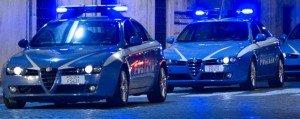 polizia volanti notte