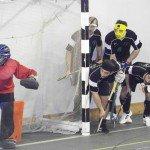 corner corto hockey indoor