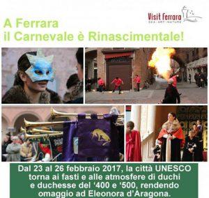 A Ferrara il Carnevale Rinascimentale: tornano i fasti della Corte Estense con un omaggio ad Eleonora D'Aragona
