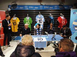 """Sergio Floccari: """"Arrivo alla SPAL con entusiasmo""""(intervista video)"""