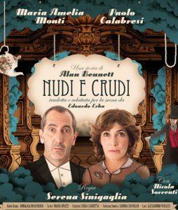 """Maria Amelia Monti e Paolo Calabresi in """"Nudi e crudi"""" al Teatro Comunale di Ferrara"""