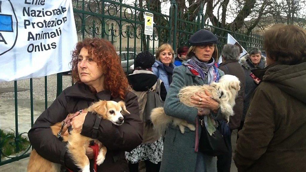 protesta animalisti bondeno