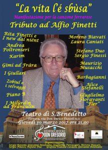 Serata a scopo benefico: musicisti ferraresi insieme sul palco per un 'Tributo ad Alfio Finetti'