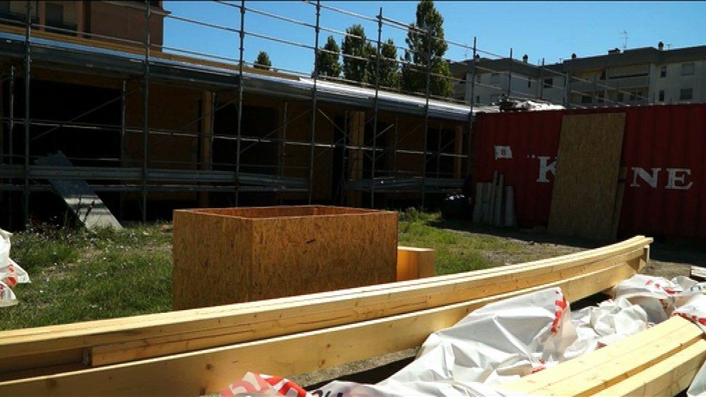 Casa del sollievo visita al cantiere della nuova for Casa del cantiere