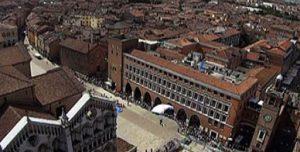 ferrara centro piazza trento trieste alto duomo cattedrale centro