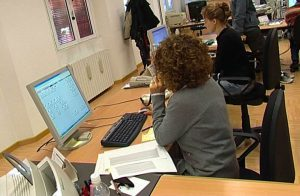 pubblico impiego lavoro donne donna computer economia