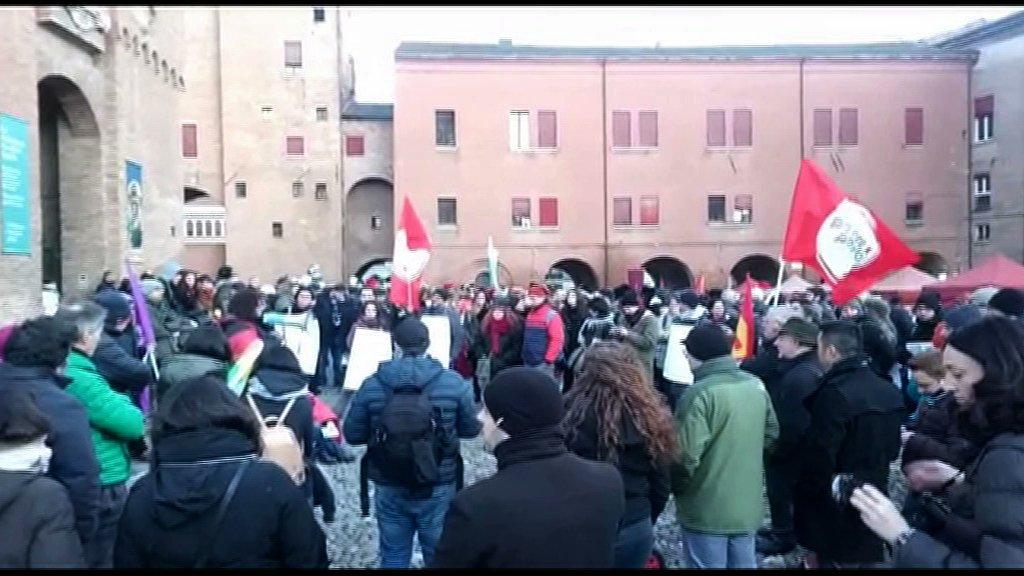 potere al popolo manifestazione anti fascista