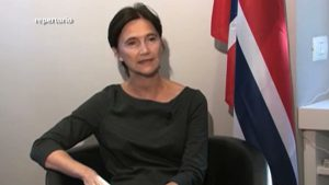 ambasciatrice norvegia palio corteo storico