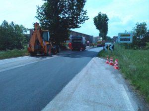 lavori strada strade asfaltatura
