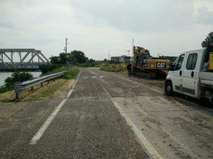 ponte po pontelagoscuro battello