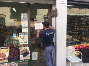 polizia mini market