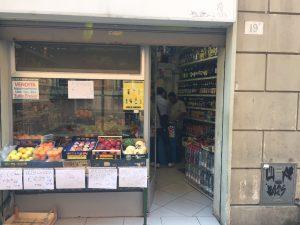 mini market polizia