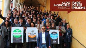 Elezioni '19: le civiche che appoggiano Aldo Modonesi