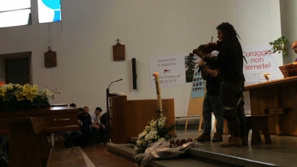 funerale ragazzo