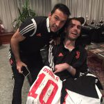 Luca con Buffon