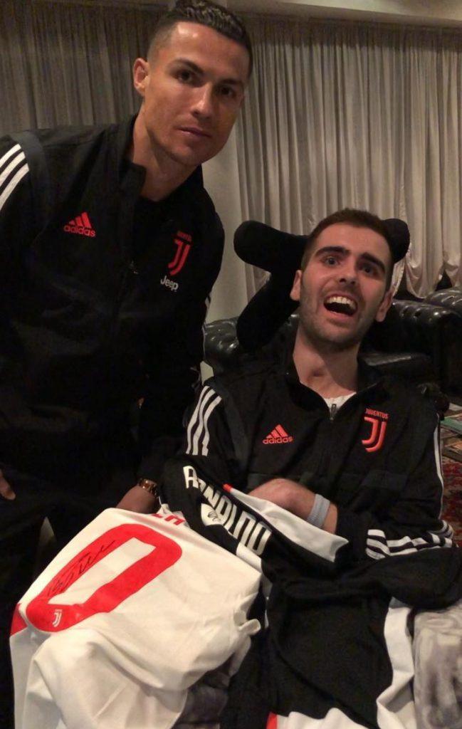Luca con Ronaldo_ok