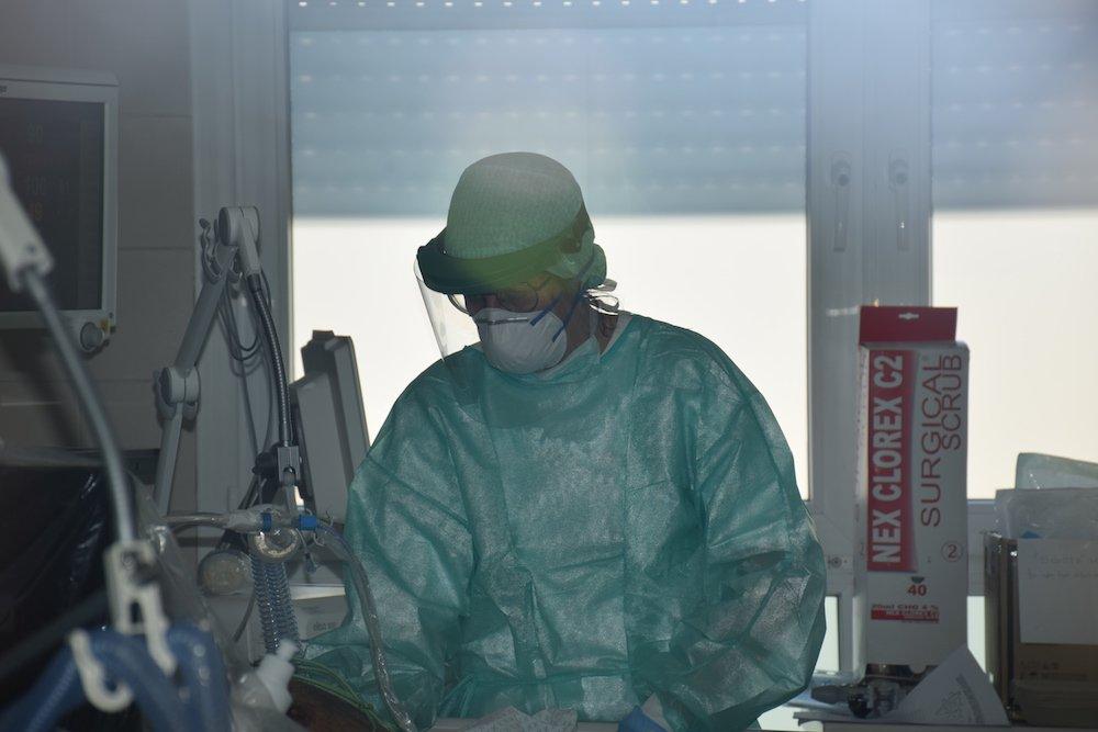 coronavirus covid ospedale di cona