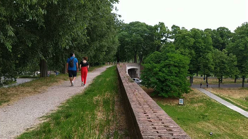 parc mura aree verdi