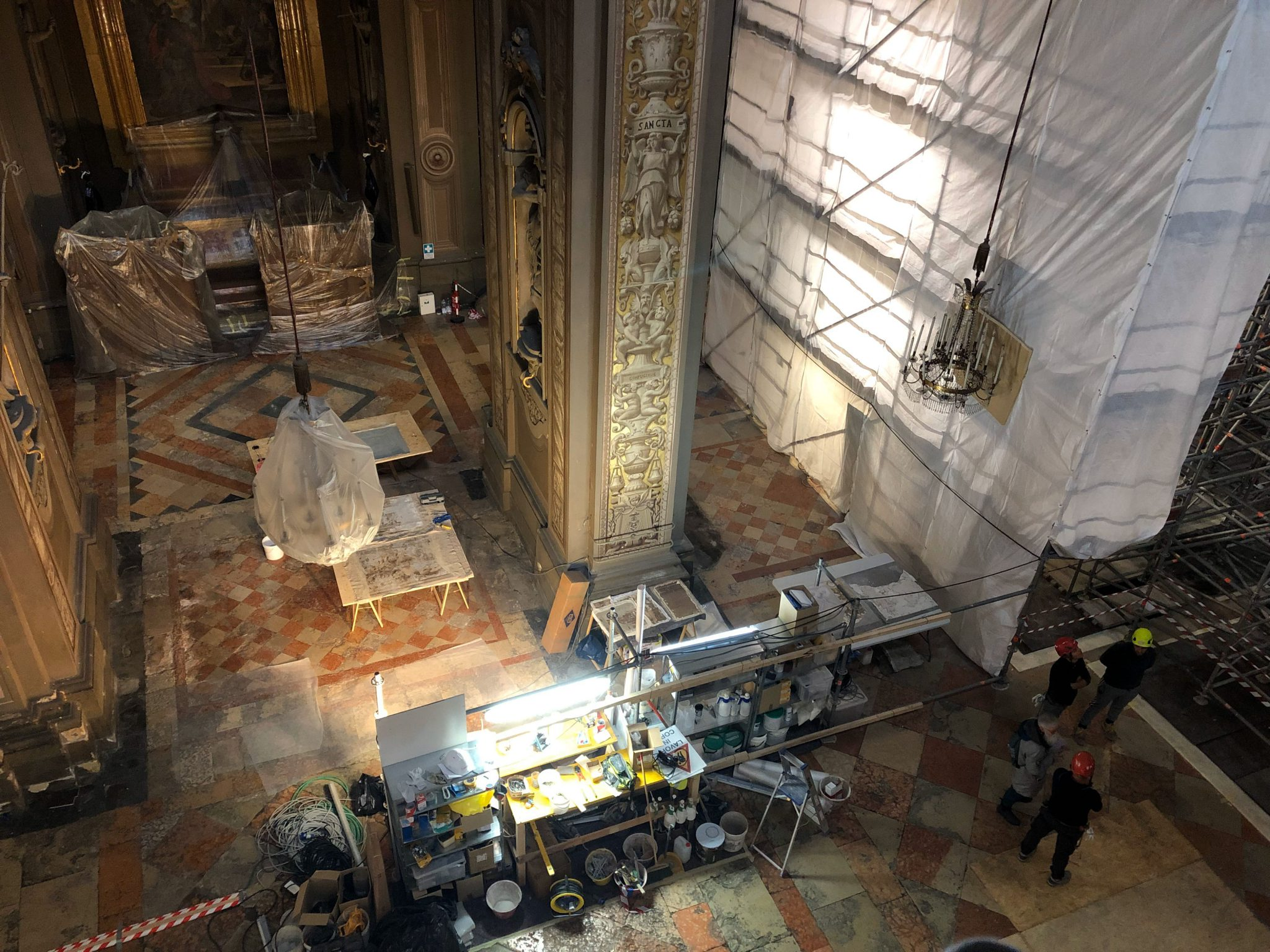 Cantiere Cattedrale duomo2