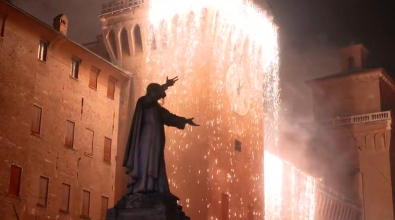 incendio Castello ferrara