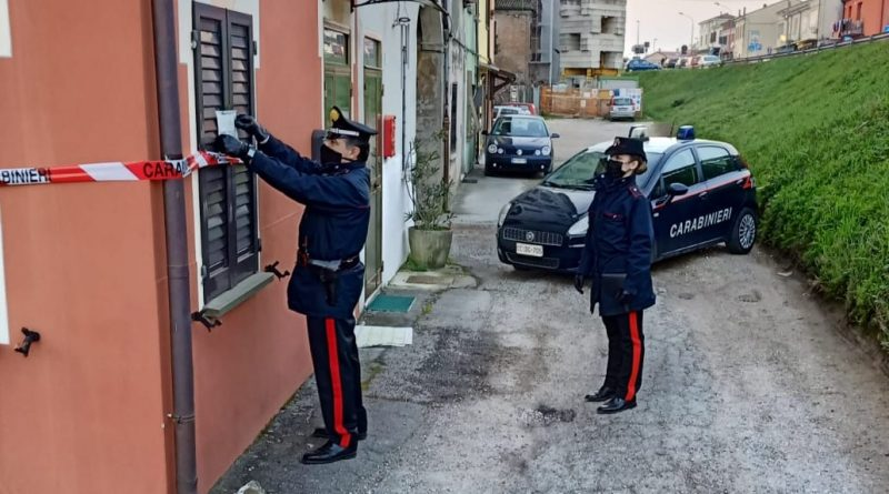 carabinieri omicidio BONDENO placati