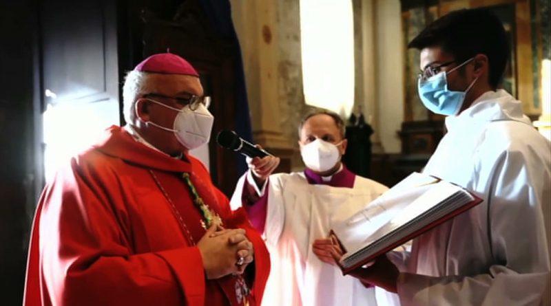 messa on line vescovo perego