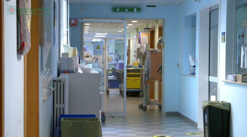 Ospedale Delta Covid corridoio medicina covid