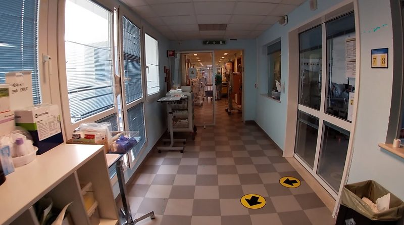 Ospedale Delta Covid terapia intensiva covid corridoio