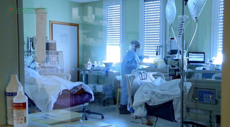 Ospedale Delta Covid terapia intensiva stanza
