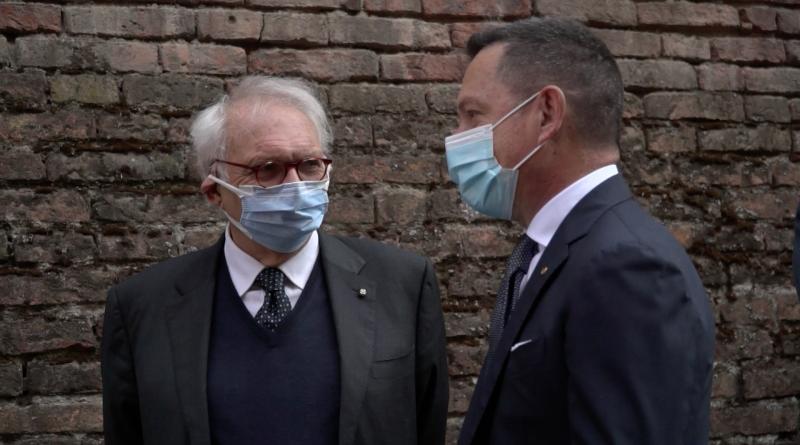 Patrizio Bianchi con Michele Campanaro