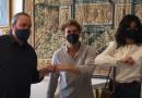 Anna Valle e Giorgio Pasotti a Ferrara per una nuova fiction RAI