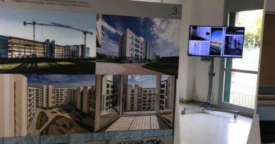 Caselli Nirmal mostra Sguardi luce case popolari