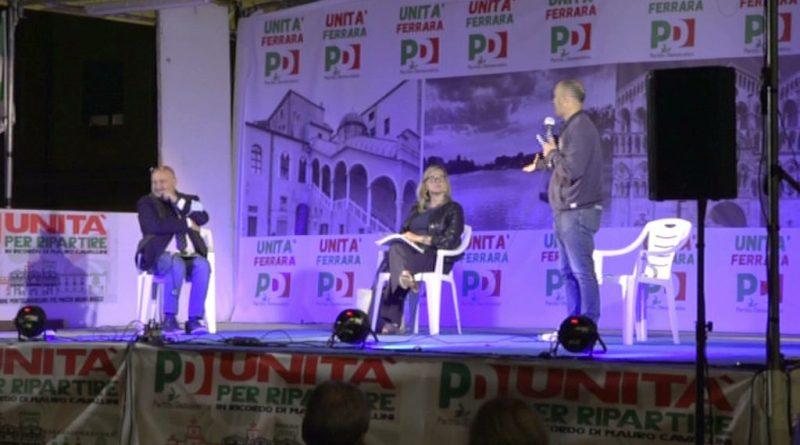 PNRR e SANITA': le due sfide del Paese, Festa PD Pontelagoscuro, int. sen. Boldrini, prof. Pregliasco