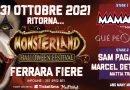 Halloween a Ferrara, alla Fiera arriva 'Monsterland': sul palco da Gue Pequeno a Mamacita. Ingresso solo in maschera
